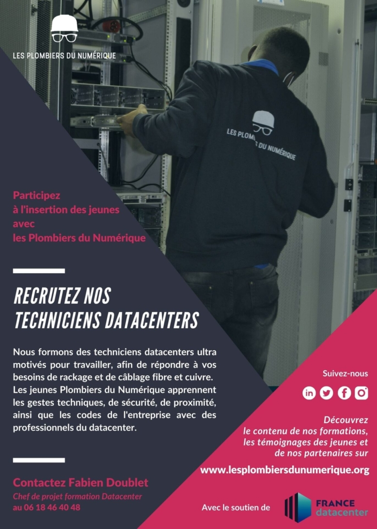 Pdn recrutez nos techniciens datacenter 2 2